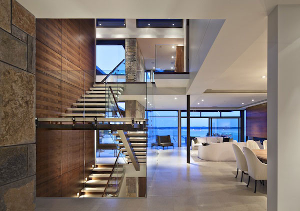 Hot Home Design Magazine Article Featuring This West Vancouver Archtiecturally Designed House With Millwork By Fusion