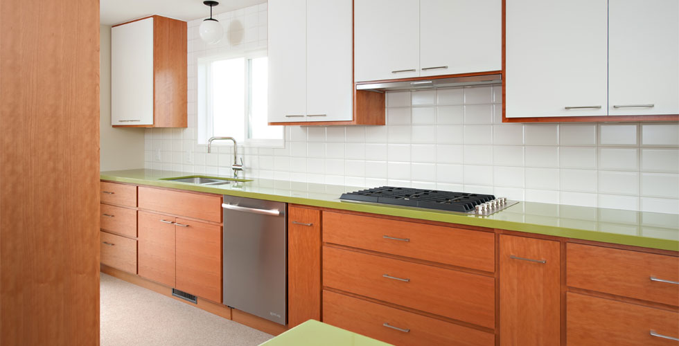 Custom kitchen millwork and cabinetry
